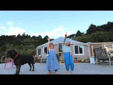 DAY IN THE UNSCHOOLING YURT LIFE | OFF GRID LIVING NZ | DITL