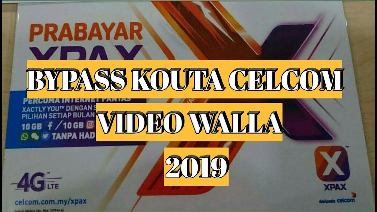 Cara Bypass Kouta Celcom Video Walla 2019 NEW UPDATE