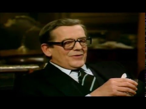 Yes Minister - Sir Arnold's Life after Cabinet Secretary