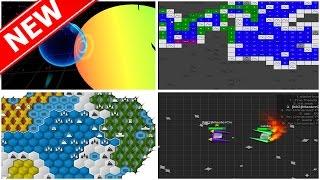 CRAZY NEW .IO GAMES LIKE AGAR.IO / SLITHER.IO / DIEP.IO!   Agar.io In 3D?! Diep.io With SpaceShips?!
