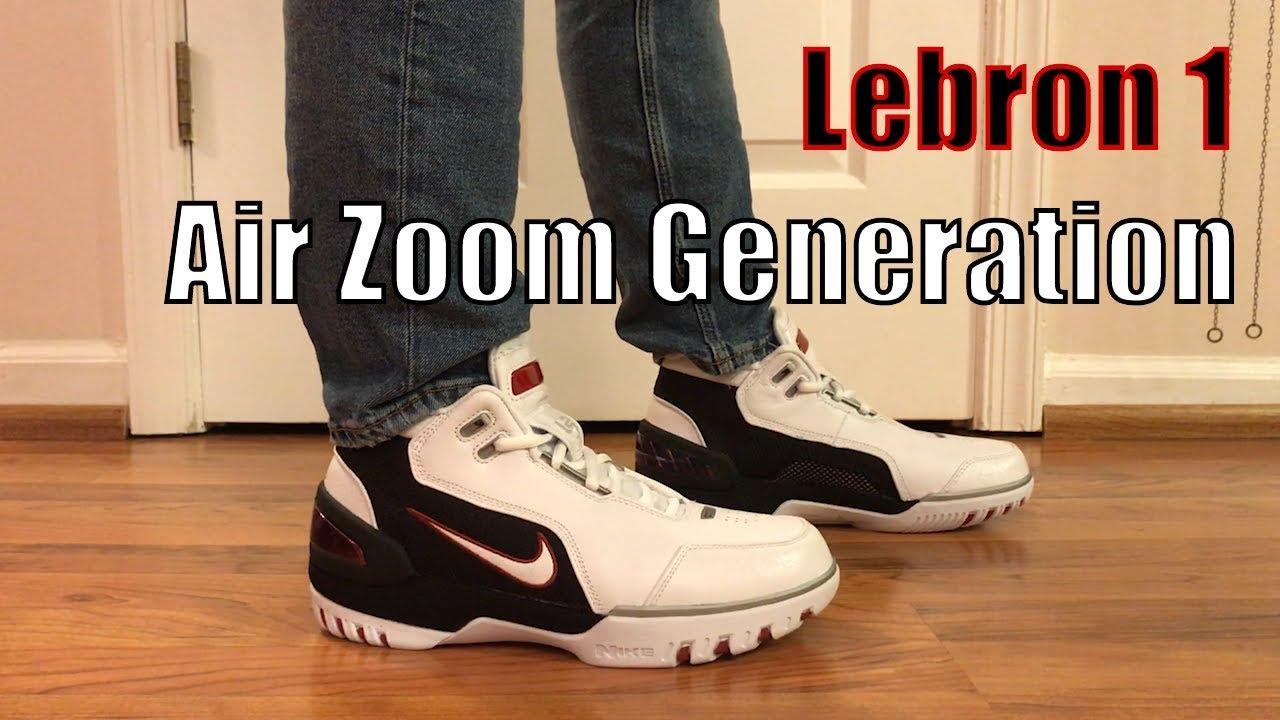 dbfc34c81385 Nike Lebron 1 Air Zoom Generation QS