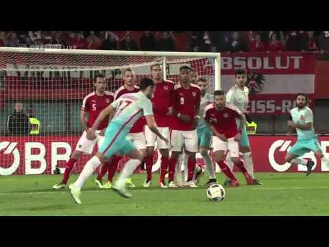 Austria vs Turkey Highlights, Best free kick form Hakan Çalhanoğlu and Turan