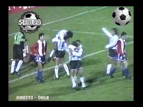 Argentina 4 vs Paraguay 1 Copa America CHILE 1991  FUTBOL RETRO TV