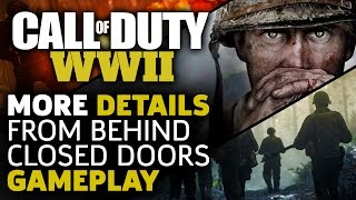 Call of Duty WWII: More Details From Behind Closed Doors Gameplay