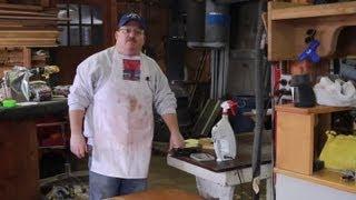 How to Raise Maple Wood Grain : Wood & Furniture Repair Tips