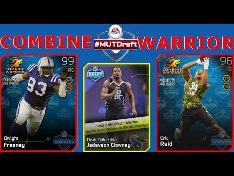 #MUT25 | NEW Combine Warriors Dwight Freeney & Eric Reid | #MUTDraft Collection Is Stupid