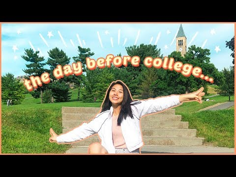 a day in my life at Cornell University // first week of school vlog 2019