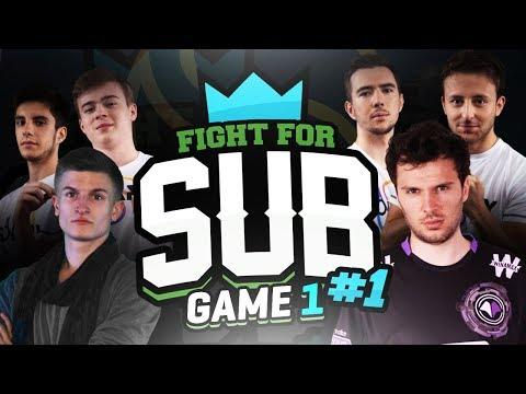 FIGHT FOR SUB #1.1 - 100 STREAMERS FR / POV SOLARY