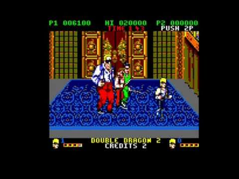 [AMSTRAD CPC] Double Dragon II - Longplay & Review