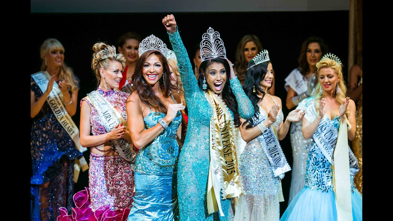 Ashley Callingbull MRS UNIVERSE 2015 queen. Crowning moment and TOP 5! Final show of beauty pageant #1
