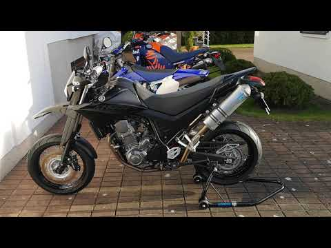 Yamaha XT660X (2008-11) - Walk around, sound.