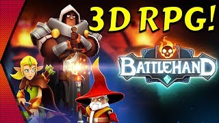 BattleHand - 3D CARD-BASED RPG BY KONGREGATE | MGQ Ep. 171