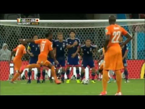 Ivory Coast Japan 2014 World Cup Full Extended Highlights itv