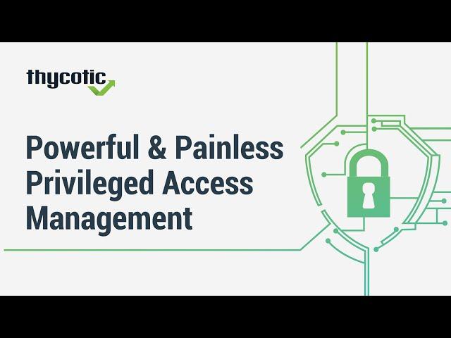 Easy Privileged Account Management | Secret Server Demo