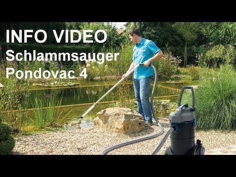 Schlammsauger Oase Pondovac 4 Teichsauger Video Teichreiniger Fur