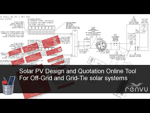 Solar PV System Online Design and Quotation tool for Grid-Tie and Off-Grid | RENVU