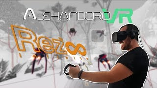 VAYA COLOCÓN PSICODÉLICO | Rez Infinite VR - Realidad Virtual en Español