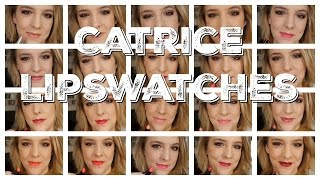 Catrice lipsticks | Swatches