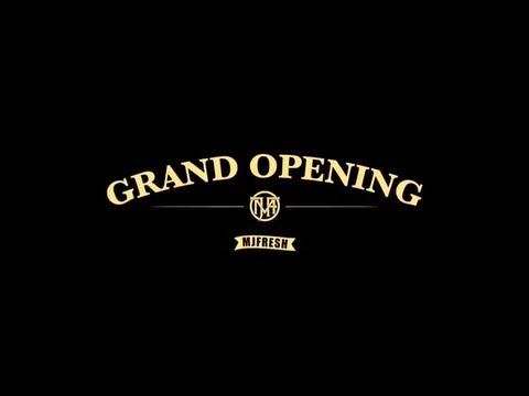 MJ Fresh Taipei Grand Opening