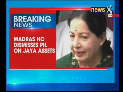 PIL to 'nationalise' assets of late Tamil Nadu CM Jayalalitha dismissed by Madras High Court