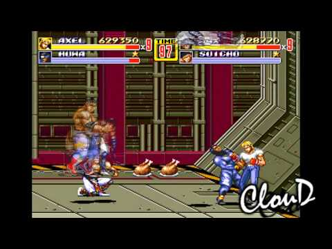 Streets of Rage was much more than a Final Fight clone • Eurogamer net