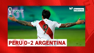 PERÚ vs ARGENTINA: 0-2 RESUMEN y GOLES del partido fecha 4 | Clasificatorias Qatar 2022