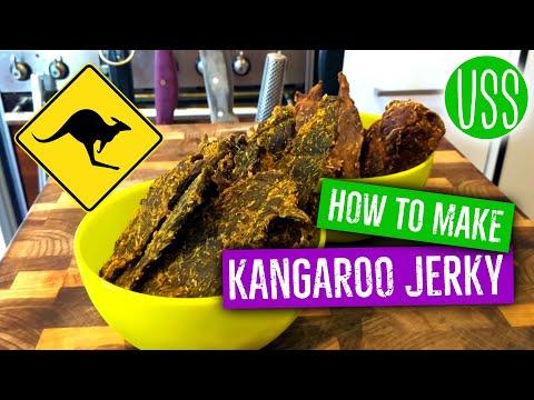 Making Kangaroo Jerky
