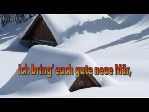 Vom Himmel Hoch Da Komm Ich Her - Weihnachtslied instrumental mit Text