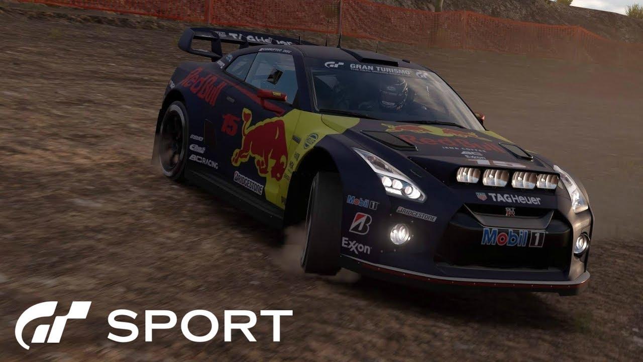 gt sport - nissan gt-r gr.b rally car review - youtube