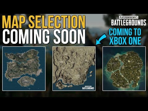 MAP SELECTION COMING TO PC - MIRAMAR COMING TO XBOX ONE AND MOBILE - PUBG News