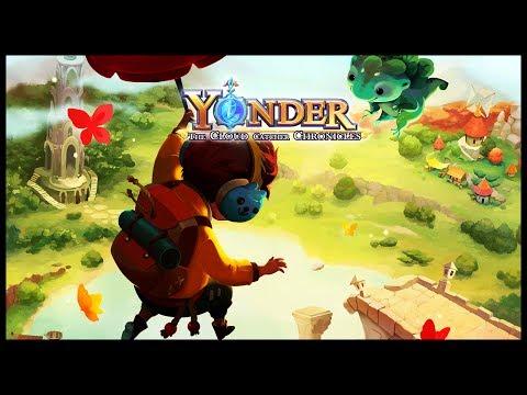 O JOGO MAIS LINDO DE TODOS - Yonder: The Cloud Catcher Chronicles [PT-BR] #1