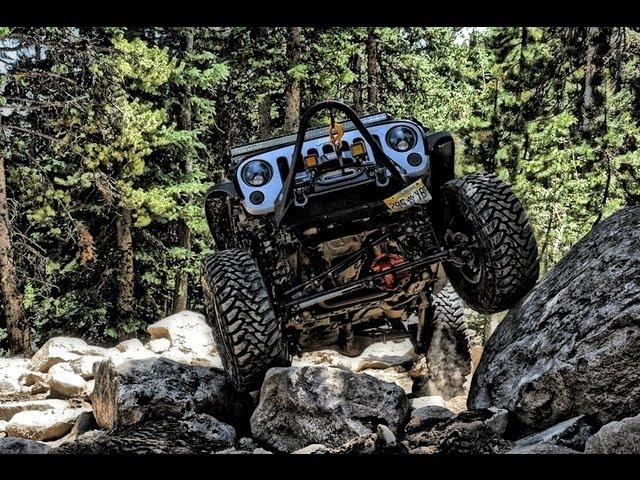 Jeep JK Offroad JK-FORUM Spring Creek THE WALL