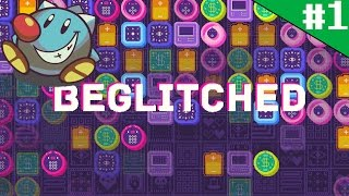 Let's Play Beglitched (1): Cute Witchy Glitchy Puzzles