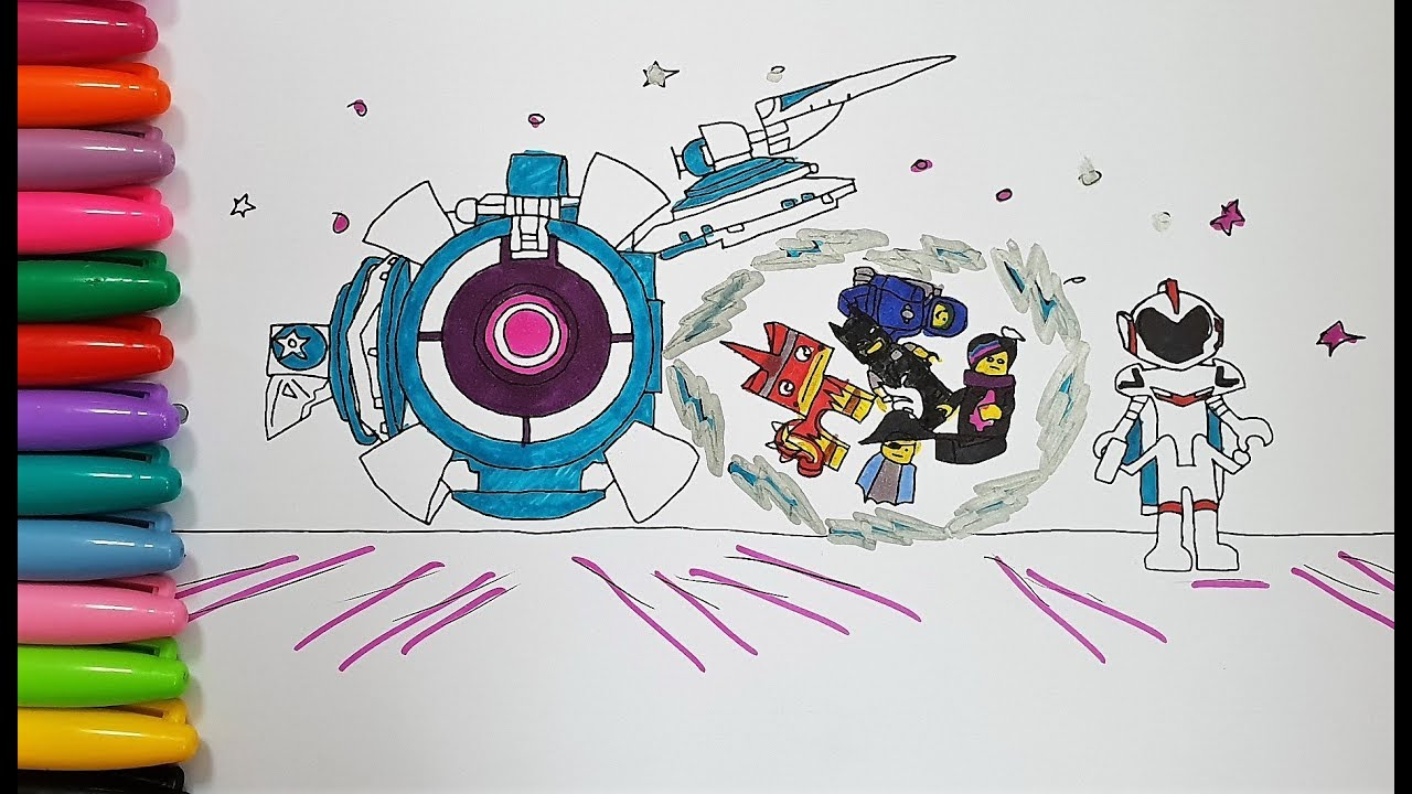 Lego Movie 2 Coloring Pages Youtube
