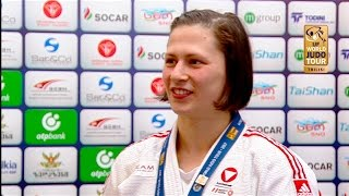 Interview Magdalena KRSSAKOVA (AUT) Winner Tbilisi Grand Prix 2017