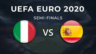 ลิงค์ดูบอลสด ยูโร 2021 สเปน vs อิตาลี คืนนี้ 02.00 น.