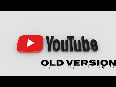 Youtube Old Version