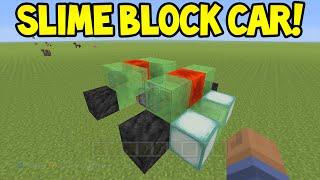 Minecraft (Xbox360/PS3) - TU31 Update! - SLIME BLOCK CAR! - Easy Tutorial