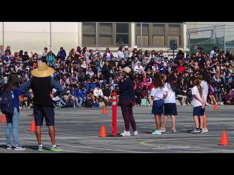 Adeo V. 660 Race | Dana Middle School, San Pedro CA, Spring 2018