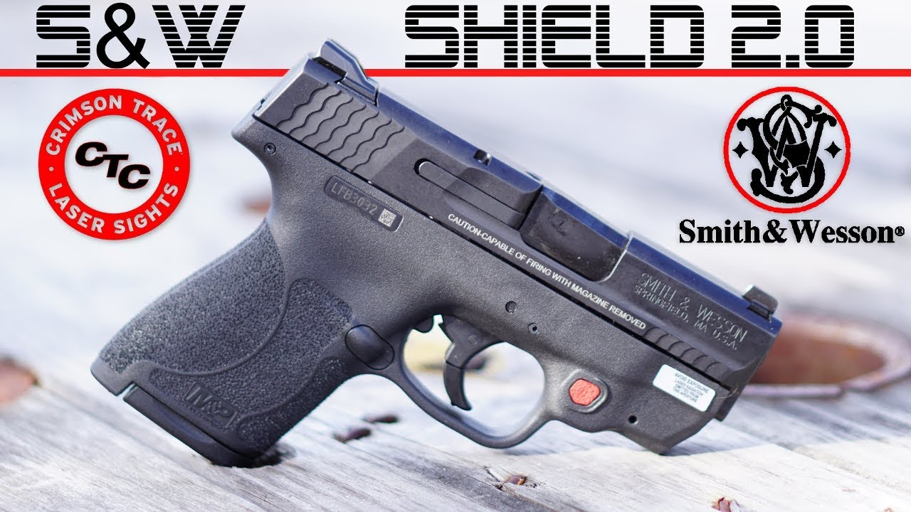 SHIELD 2 0 with Crimson Trace - REVIEW