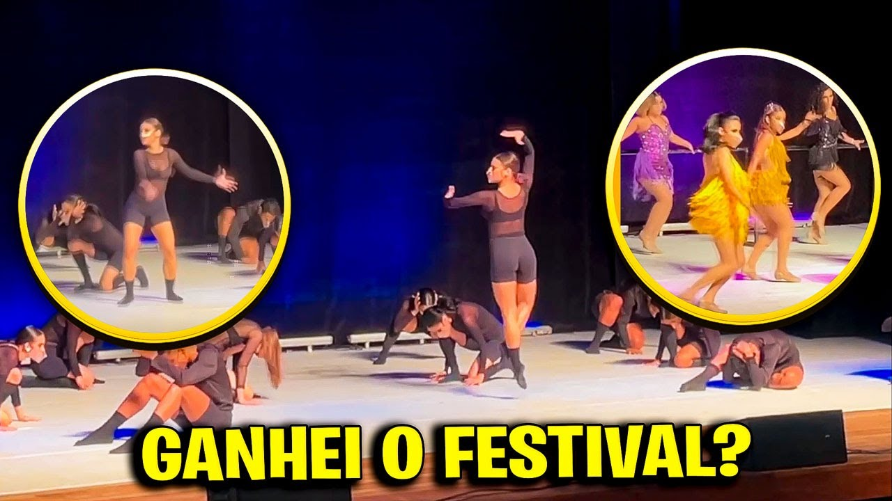 PARTICIPEI DE UM FESTIVAL DE DANÇA!
