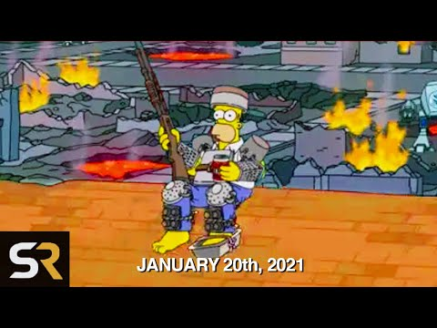 Simpsons Predictions For 2021