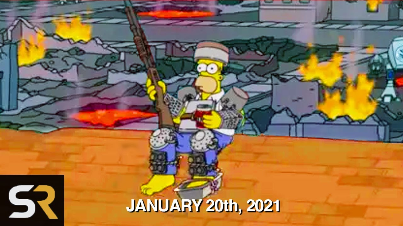 Download Simpsons Predictions For 2021