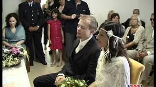 Asinara primo matrimonio civile dopo  il boss della camorra organizzata,Cutolo.