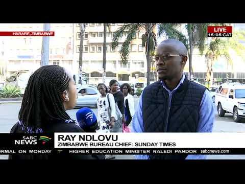 Latest update on Zimbabwean situation
