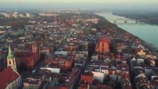 Toruń z lotu ptaka, www.filmzlotuptaka.pl