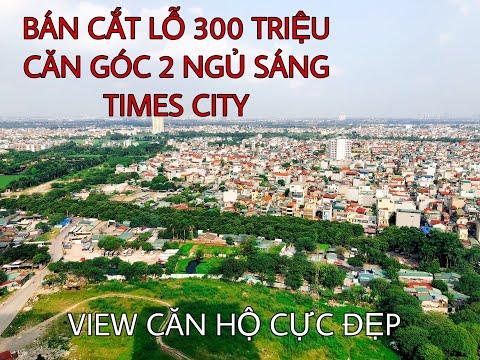 Bán cắt lỗ 300 triệu căn góc 2 ngủ sáng tại Vinhomes Times City - View có 1 không 2