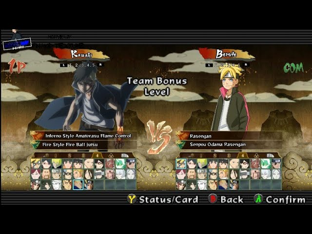 MODPACK NSUNI Mod Naruto Shippuden Ultimate Ninja Storm 4 Road To Boruto PPSSPP Download!! #1