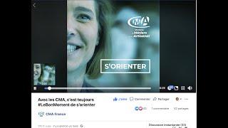 CMA FRANCE S'ORIENTER + 300 000 vues