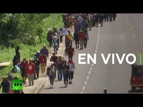 RT en Español: La caravana de migrantes continúa su travesía hacia EE.UU. a través de México